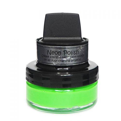 Cosmic Shimmer Neon Polish Anbsinthe Green