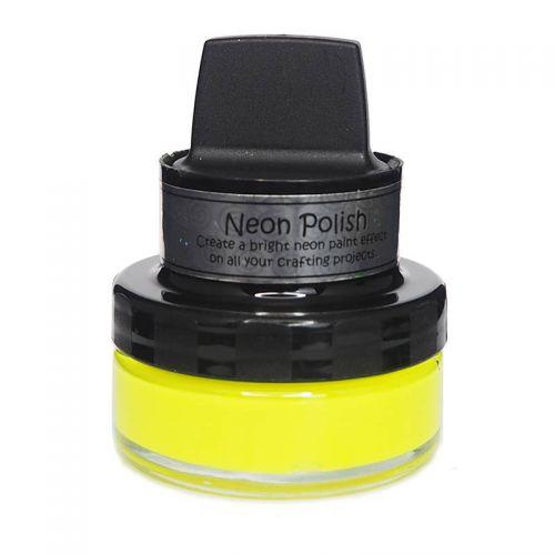 Cosmic Shimmer Neon Polish Happy Yellow
