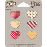 Die Cut Vellum Hearts