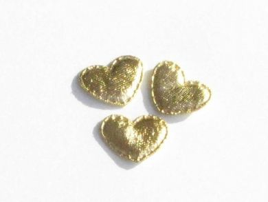 Gold Shiny Hearts (OUT OF STOCK)