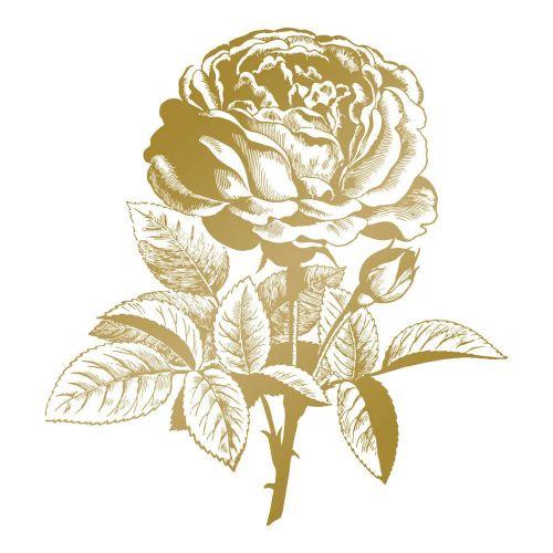 Hot Foil Stamp Classic Rose