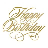 Hot Foil Stamp Happy Birthday