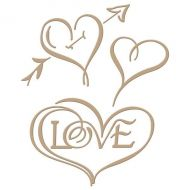 Spellbinders Hearts and Love Hot Foil Stamp