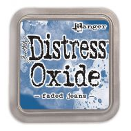 Tim Holtz Distress Oxide Ink Pad Faded Jeans