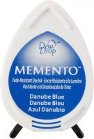 Memento Dew Drop Ink Pad Danube Blue