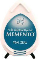 Memento Dew Drop Ink Pad Teal Zeal