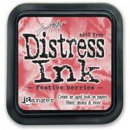 Tim Holtz Distress Ink Pad Festive Berries