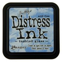 Tim Holtz Distress Ink Pad Tumbled Glass
