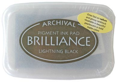Brilliance Black Pigment Ink Pad