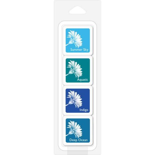 Hero Arts Colour Layering Ink Pads Tropical Waters (OUT OF STOCK)