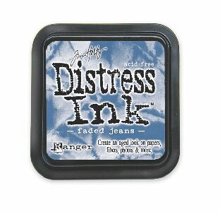 Tim Holtz Distress Ink Pad Faded Jeans