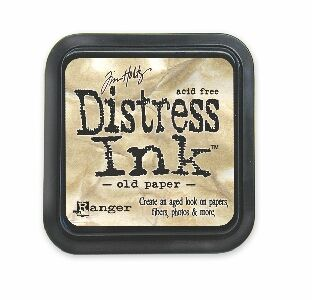 Tim Holtz Distress Ink Pad Old Paper