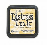 Tim Holtz Distress Ink Pad Scattered Straw