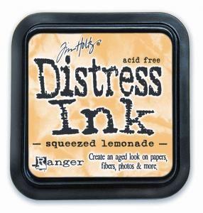 Tim Holtz Distress Ink Pad Squeezed Lemonade
