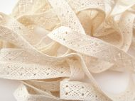 1.5cm Crochet Lace Cream