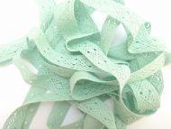 2cm Crochet Lace Mint Green