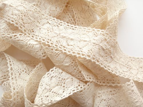 5cm Crochet Lace Cream