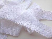5cm Crochet Lace White