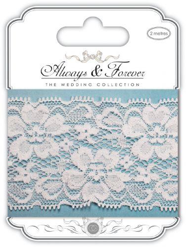 Floral Notes Lace Ribbon