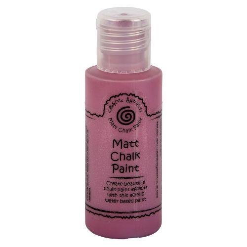 Cosmic Shimmer Matt Chalk Paint Spiced Raspberry