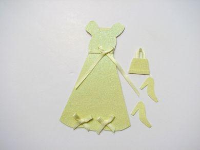 Lemon Glitter Dress