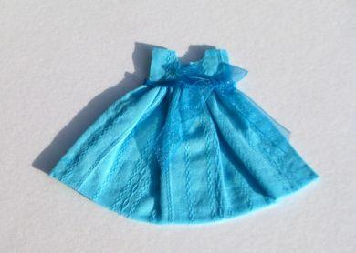 Turquoise Miniature Dress