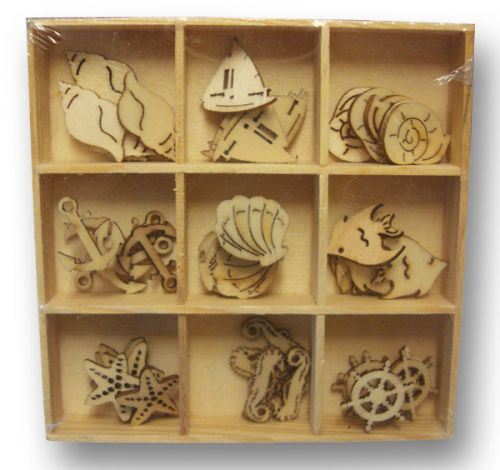 Wooden Shapes Sealife