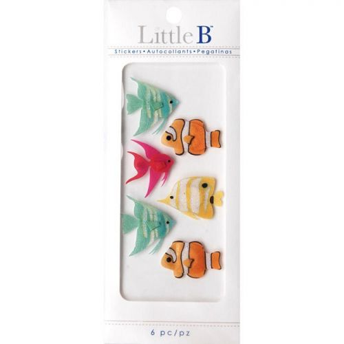 Little B Mini Stickers Tropical Fish