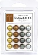 Pearl Brads Metallics