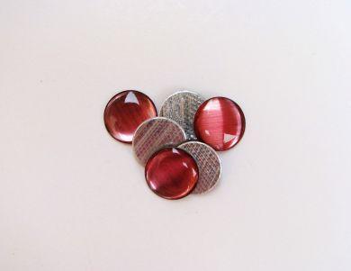 Pink Round Gemstones