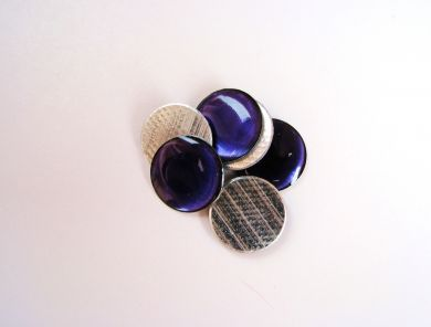 Purple Round Gemstones