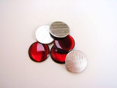 Red Round Gem Stones