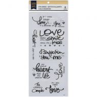 Love Sentiments and Greetings Stickers