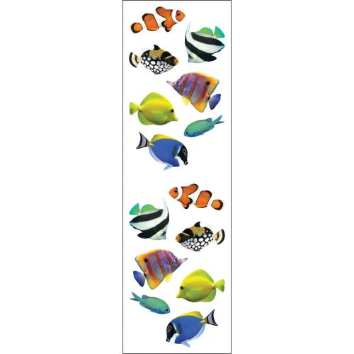 Tropical Fish Stickers