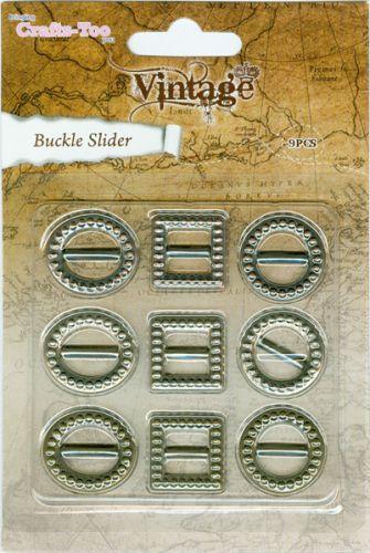 Vintage Buckle Sliders