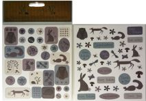 Wildflower Wood Sticker Sheets