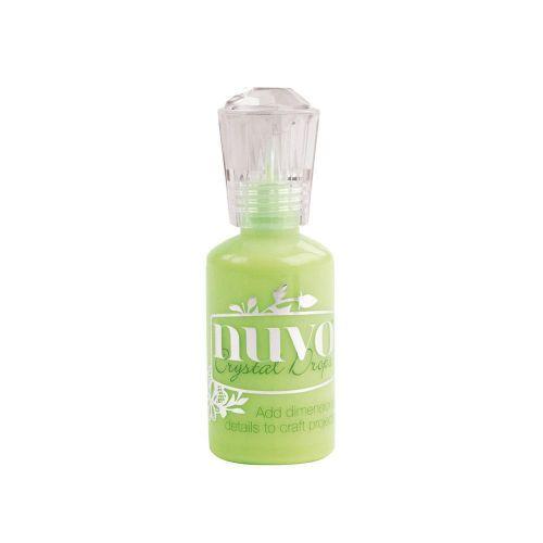 Nuvo Crystal Drops Gloss Apple Green