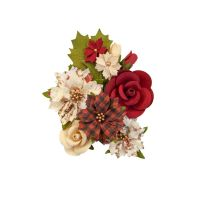 Country Christmas Paper Flowers Christmas Song