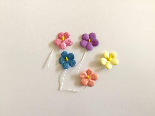 Mixed Paper Flowers 2