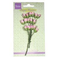 Paper Rose Buds Pink