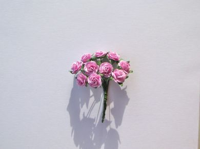 Lavender Pink Mulberry Paper Roses