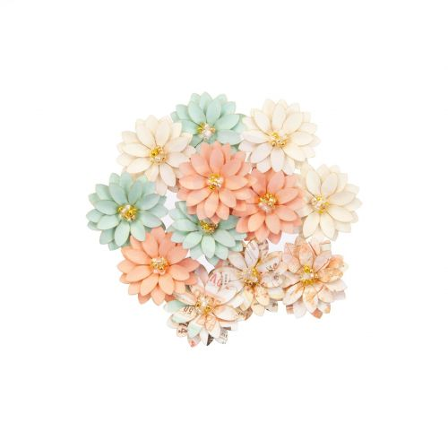 Apricot Honey Paper Flowers (OUT OF STOCK)