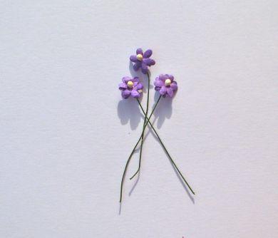 Purple Paper Flowers