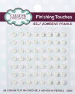5mm Self Adhesive Pearls Natural