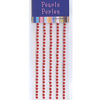 3mm Red Pearls