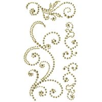 Self Adhesive Pearl Swirls Gold (OUT OF STOCK)