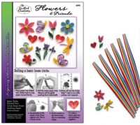 Flowers & Friends Quilling Kit