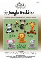 Jungle Buddies Quilling Kit