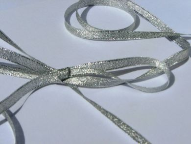 Metallic Ribbon Silver