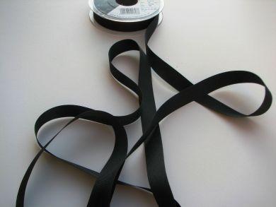 16mm Grosgrain Ribbon Black